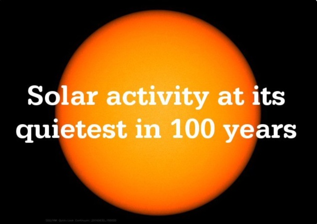 Solar Acrivity in 100 Years