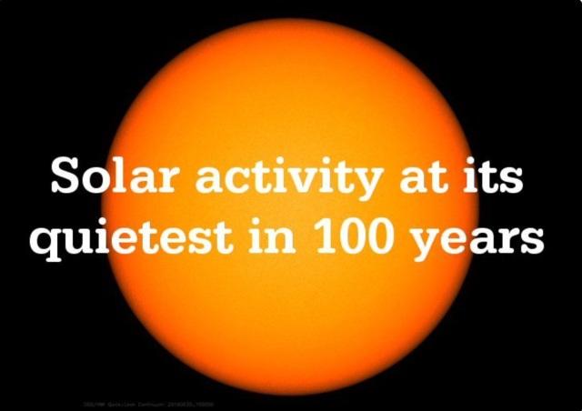 Solar Acrivity in 100 Years